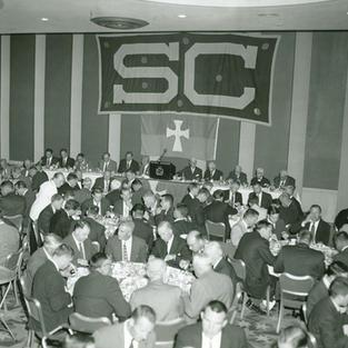 1958 Trojan Sig ceremonial dinner