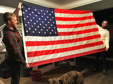 Flag with Mitch and Michael.jpeg