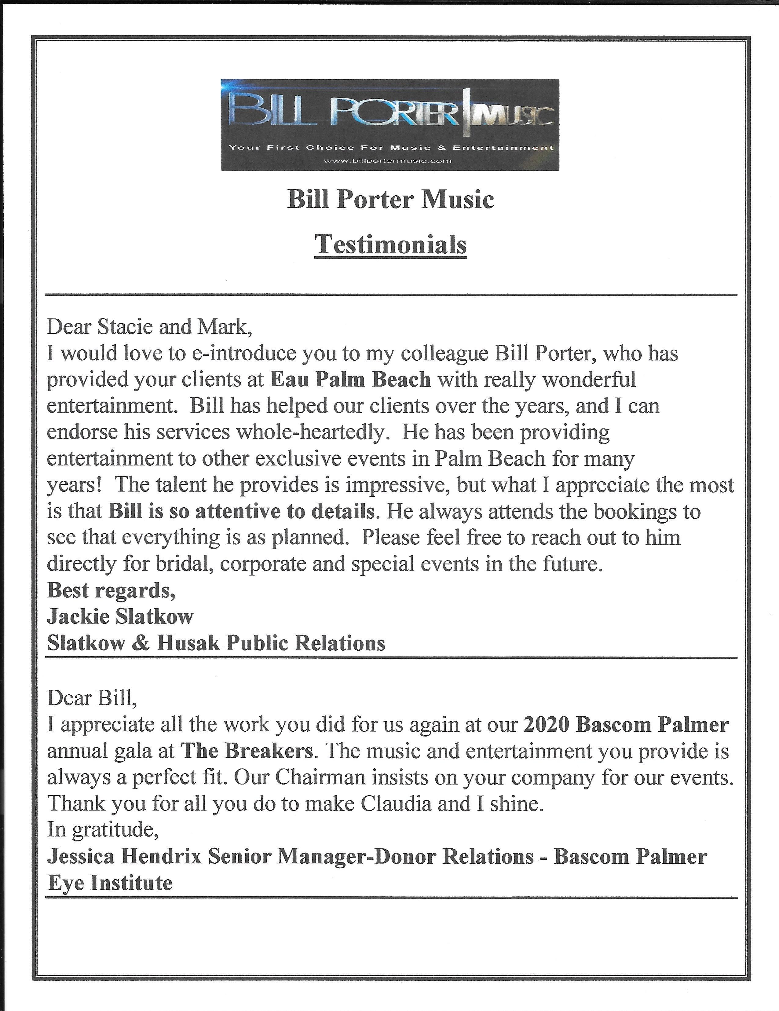 BPM typed tesimonials page 2