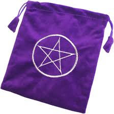 PENTAGRAM TAROT CARD BAG