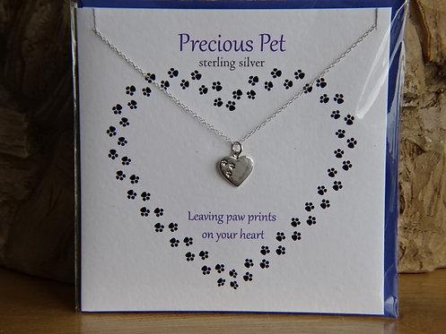 PRECIOUS PET  CARD & PENDANT