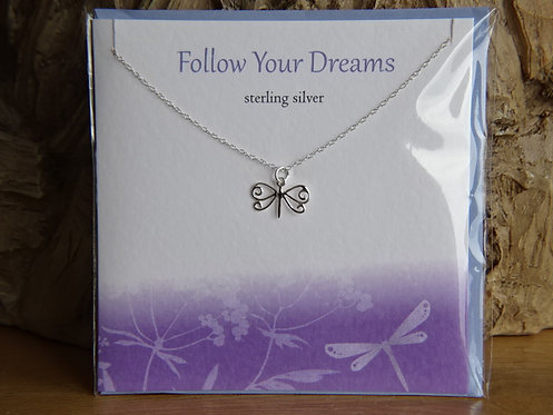 FOLLOW YOUR DREAMS CARD & PENDANT