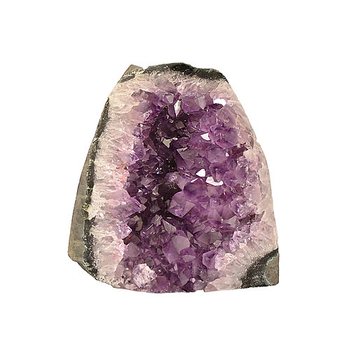 CUT BASE AMETHYST AM3
