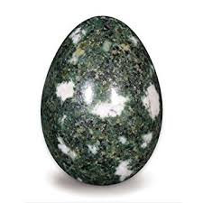 PRESELI BLUESTONE EGG CARVING