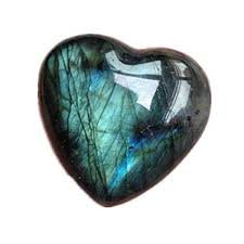 LABRADORITE HEART (Small)