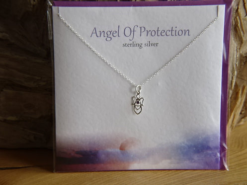 ANGEL OF PROTECTION CARD & PENDANT