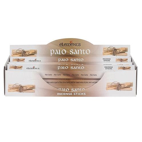 6 Packs ELEMENTS PALO SANTO INCENSE STICKS