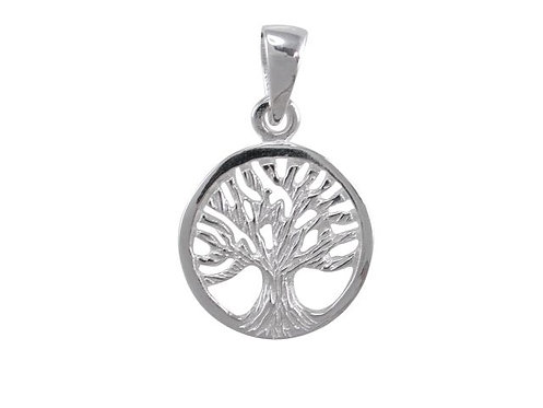 STERLING SILVER TREE OF LIFE PENDANT AND EARRING SET