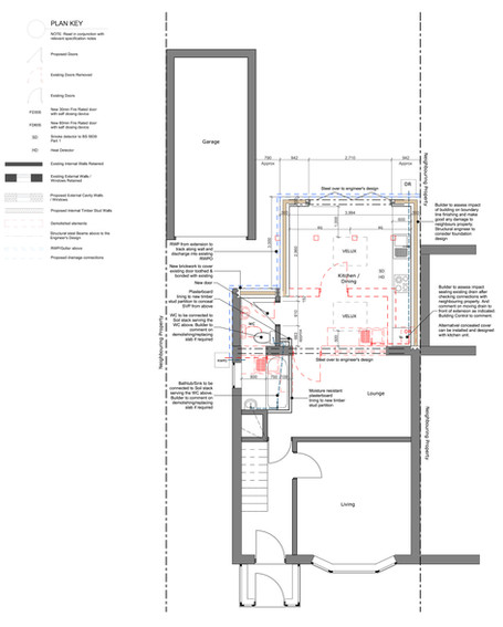 Proposed Ground Floor Layout