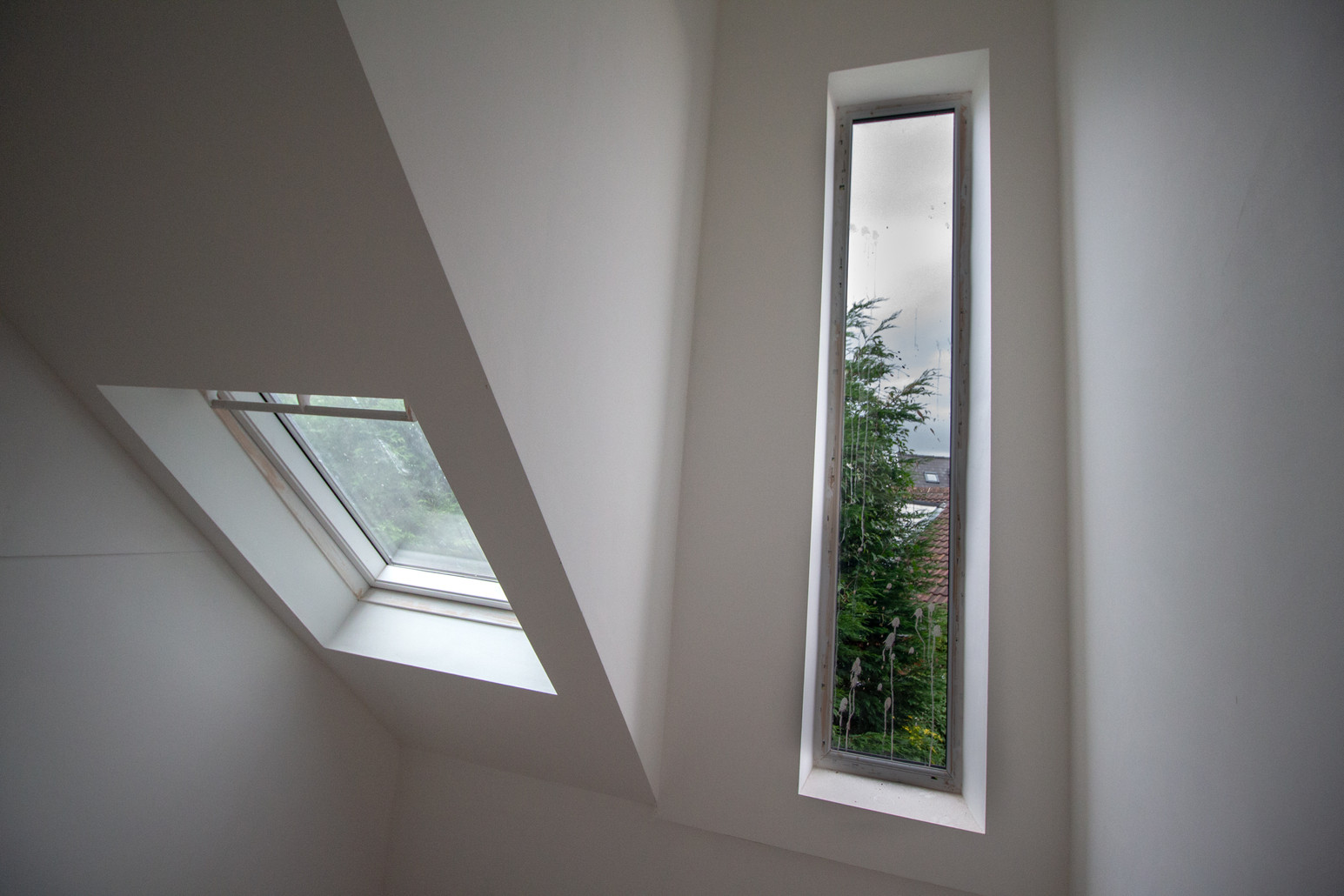Dormer window and rooflight detail