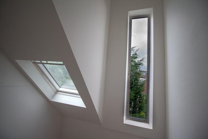 Dormer window and rooflight detail
