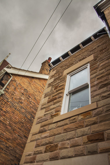 Stone detail to match existing
