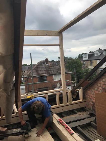 Dormer timber frame