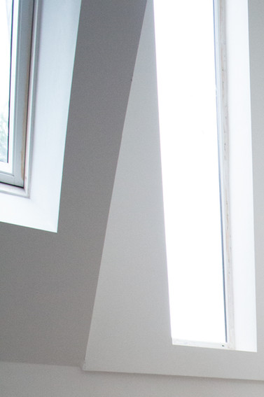 Stair dormer and window detail