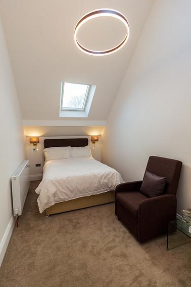 New second floor bedroom