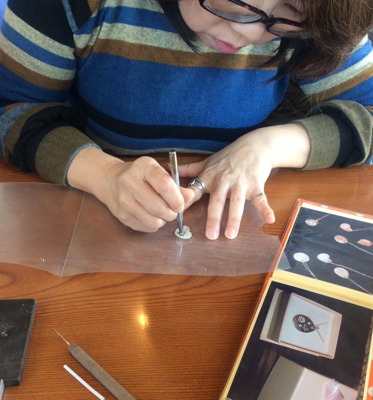 銀粘土で初めて作る