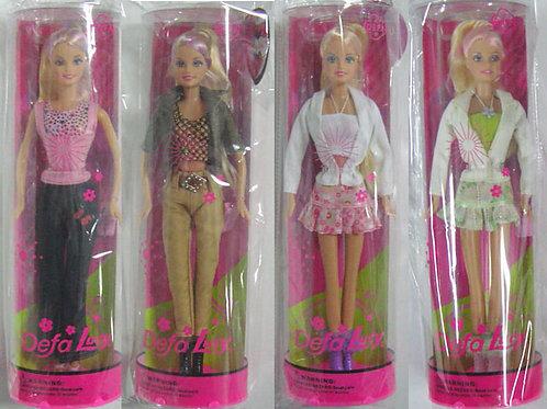 10-413-3 Кукла в тубе Defa Lucy 4 вида а.6019+