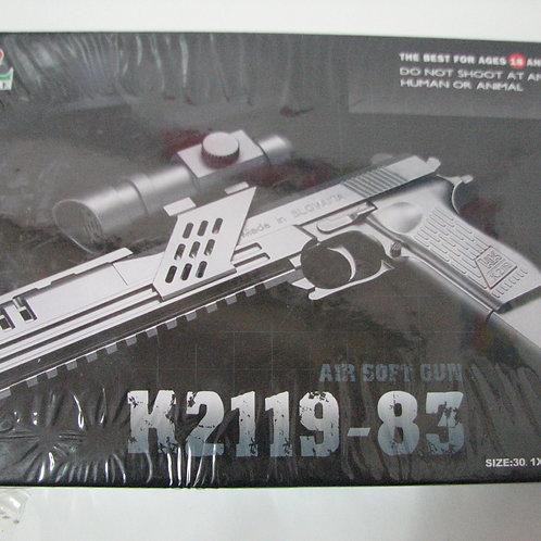 11-285-9 Игрушка пистолет с оптическим прицелом. в коробке