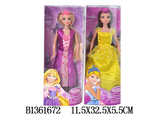 10-405-8 Кукла принцесса 30см в кор. 2 вида (BLD040)
