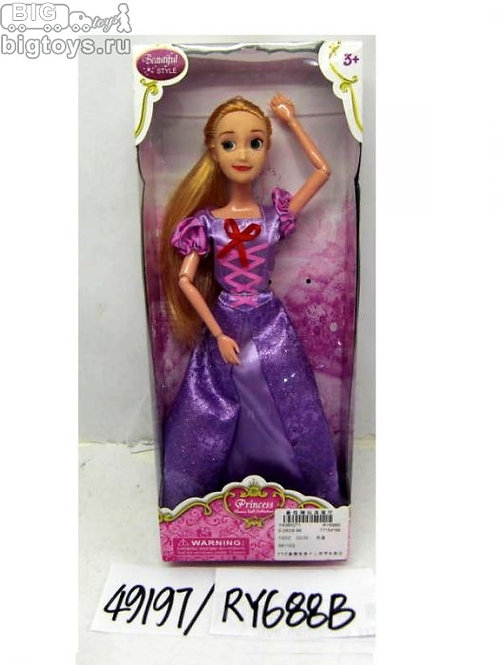 10-405-65 Кукла принцесса 28см в кор.RY688B