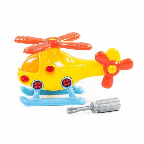 16-027-0 Конструктор-транспорт Вертолёт (16 элементов)сет
