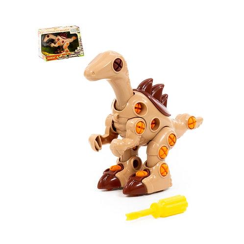 16-024-5 Конструктор-динозавр Велоцираптор (36 элементов)
