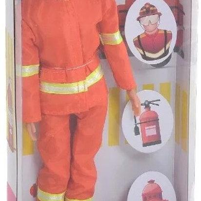 11-273-47 Кукла ПожарныйDefa с аксесс. в/к 15*5.5*32 см.