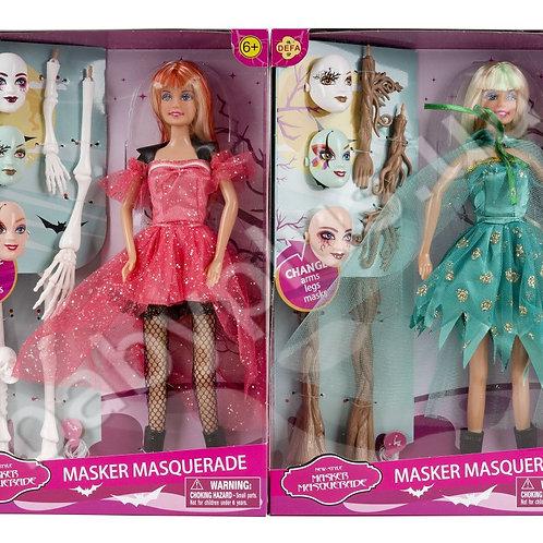 10-416-94 Кукла с масками(3 вида)