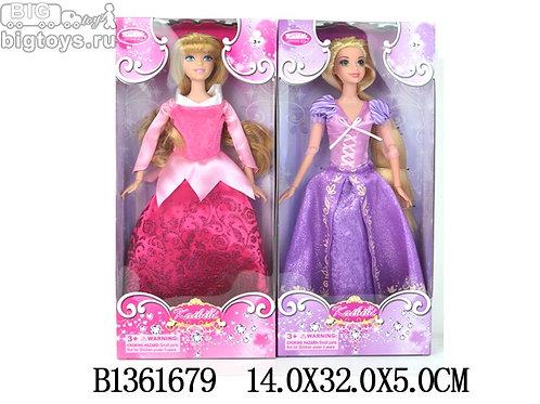 10-405-85 Кукла принцесса 30см в кор. 2 вида (BLD044-1)