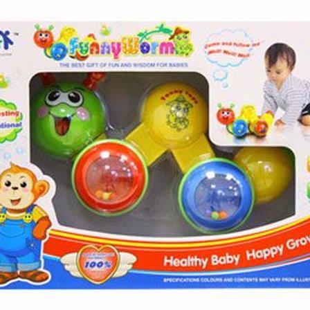 28-126 Развивающая игрушкаГусеница. в/к 25*8.5*18.5 см
