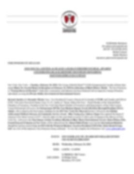 YGB Press Release - 15th Annual Black Ti