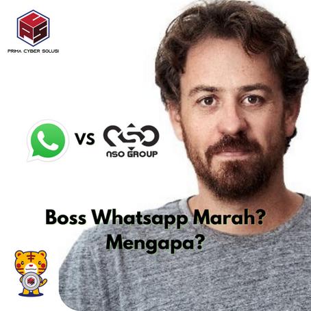 Bos Whatsapp Marah Penggunaan Spyware Pegasus? Mengapa?