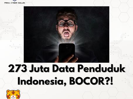 273 Juta Data Penduduk Indonesia, BOCOR?!