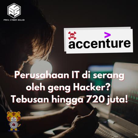 Perusahaan IT di serang oleh geng Hacker? Tebusan hingga 720 juta!