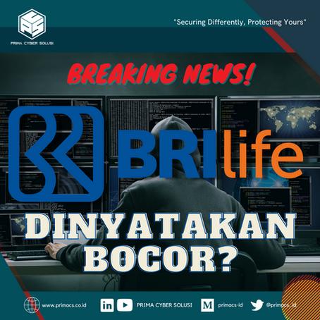 Apa yang terjadi pada 2 juta data BRI Life?
