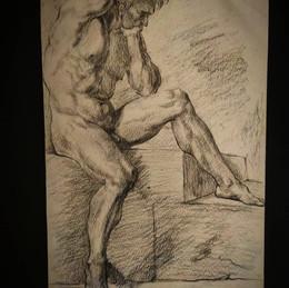 """Учебная копия ( из книги """"Рисунок в академии художеств"""", 1990 г."""