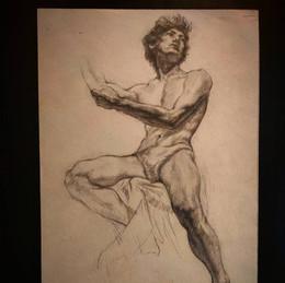 """Учебная копия ( из книги """"Рисунок в академии художеств"""", 1991 г."""
