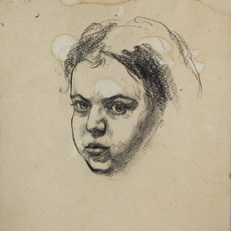 Автопортрет (нарисовано в 16 лет)