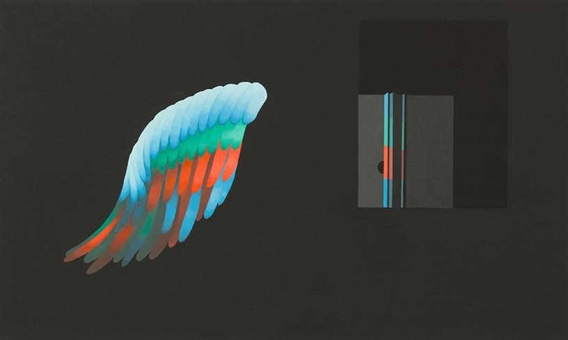 Untitled_2017_acrylic on 60 x 100 cm