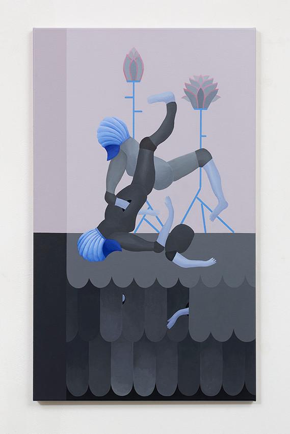 The dream of Armor #1_2019_acrylic on canvas_100x60 cm