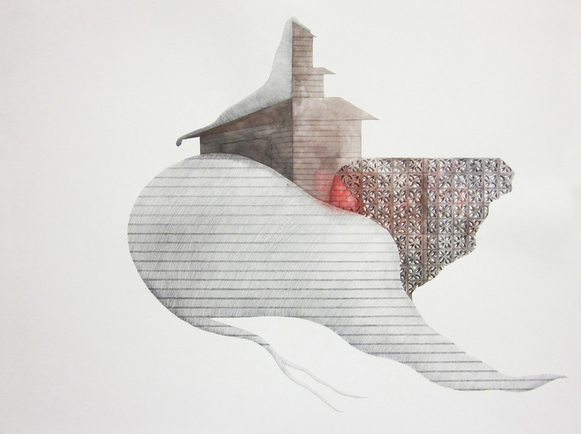 Untitled_2014_watercolor and pencil on paper_56x75 cm