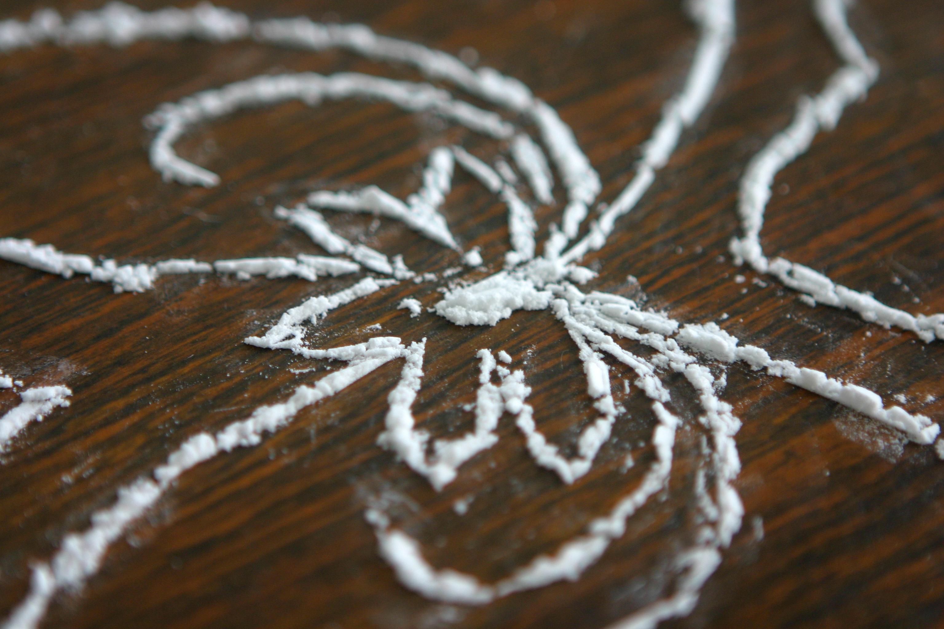 Cocaine table, 2008