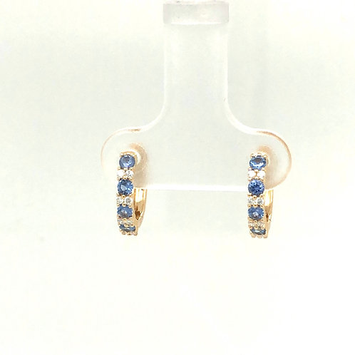 Yogo Diamond Huggie Earrings