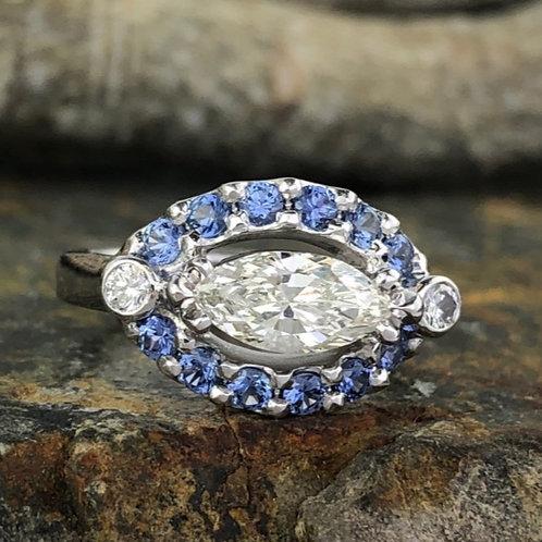Marquise Diamond Yogo Ring– Corey Johnson Fine Jewelry