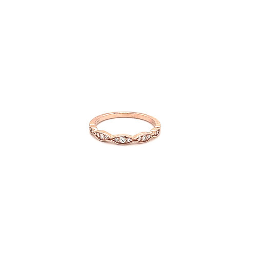 Marquise Shaped Stackable