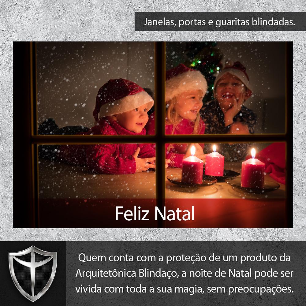 Mensagem de Natal da Arquitetônica Blindaço