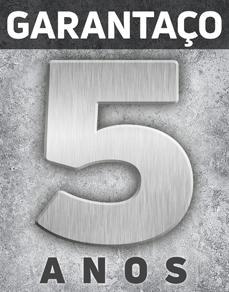 GARANTAÇO - A garantia de 5 anos da Blindaço que cobre defeitos de fabricação, mal funcionamento e instalação.