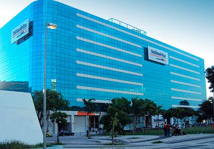 Blindagem arquitetônica Blindaço - blindagem de fachada do edifício sede da Sulamerica Seguros na cidade do Rio de Janeiro