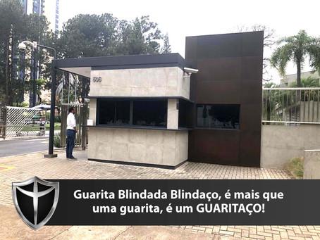 Guarita blindada da DuPont, mais uma obra de destaque da Arquitetônica Blindaço.