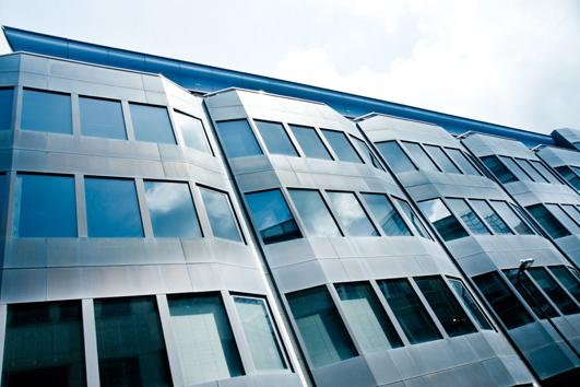 Blindagem arquitetônica Blindaço - blindagem de fachada para escritórios comerciais